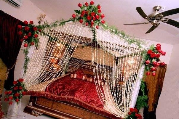 Best Nice Bashor Night Bed Decor Wedding Room Decorations 400 x 300
