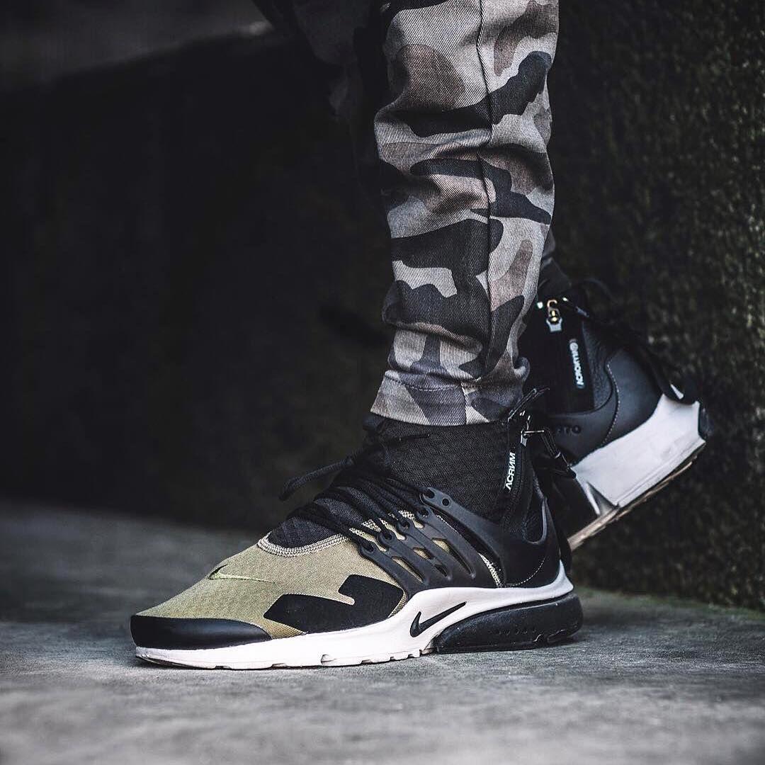 48a97f4c1f5c ACRONYM x NIKELAB AIR PRESTO MID  sneakernews  Sneakers  StreetStyle  Kicks