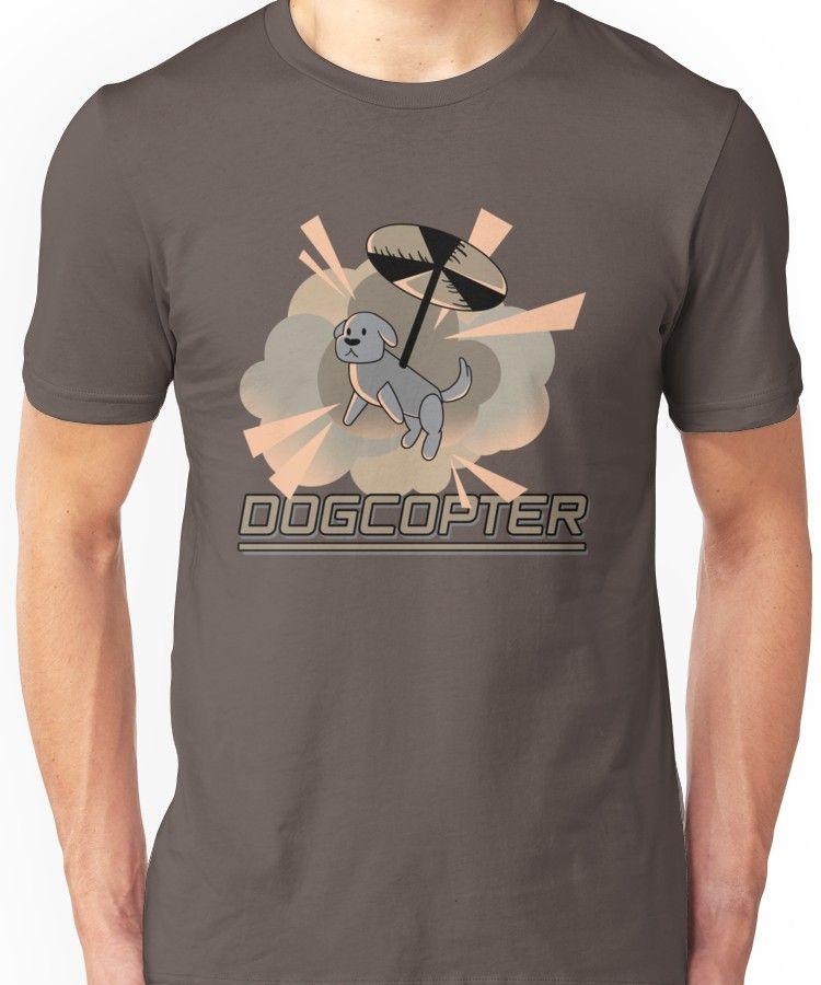 Dogcopter Unisex Shirts