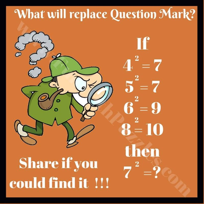 Mind Challenging Maths Logical Questions And Answers Math Logic