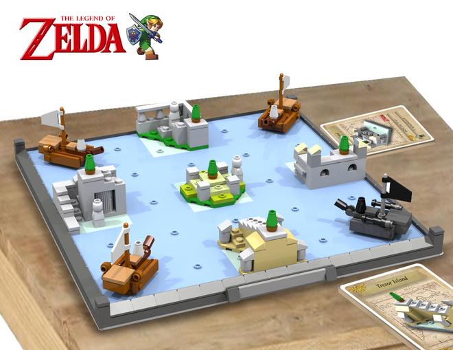 Zelda Board Game | Lego ideas, Lego and Gaming