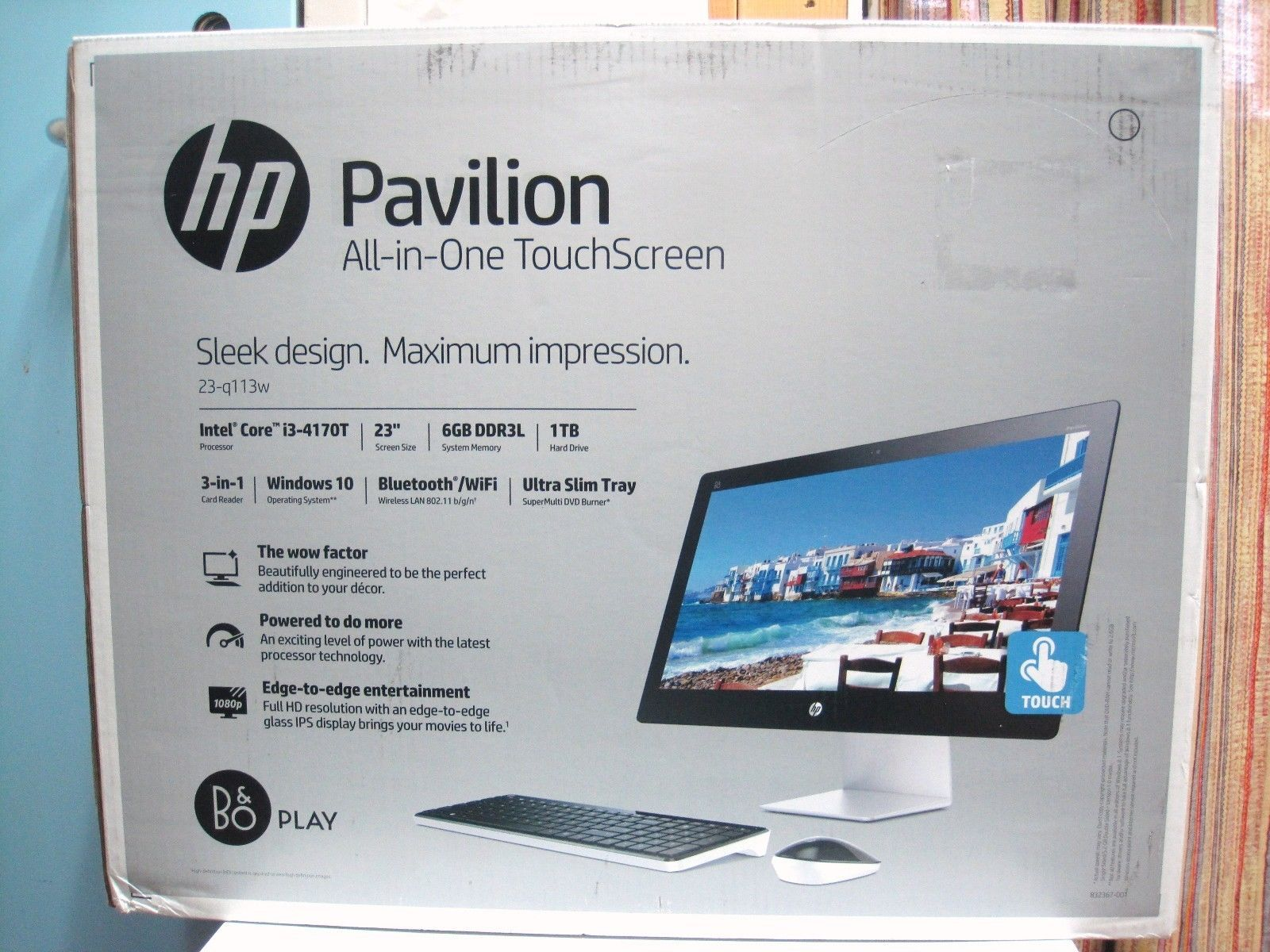 HP Pavilion 23-q113w All in One Intel Core i3-4170T 23\