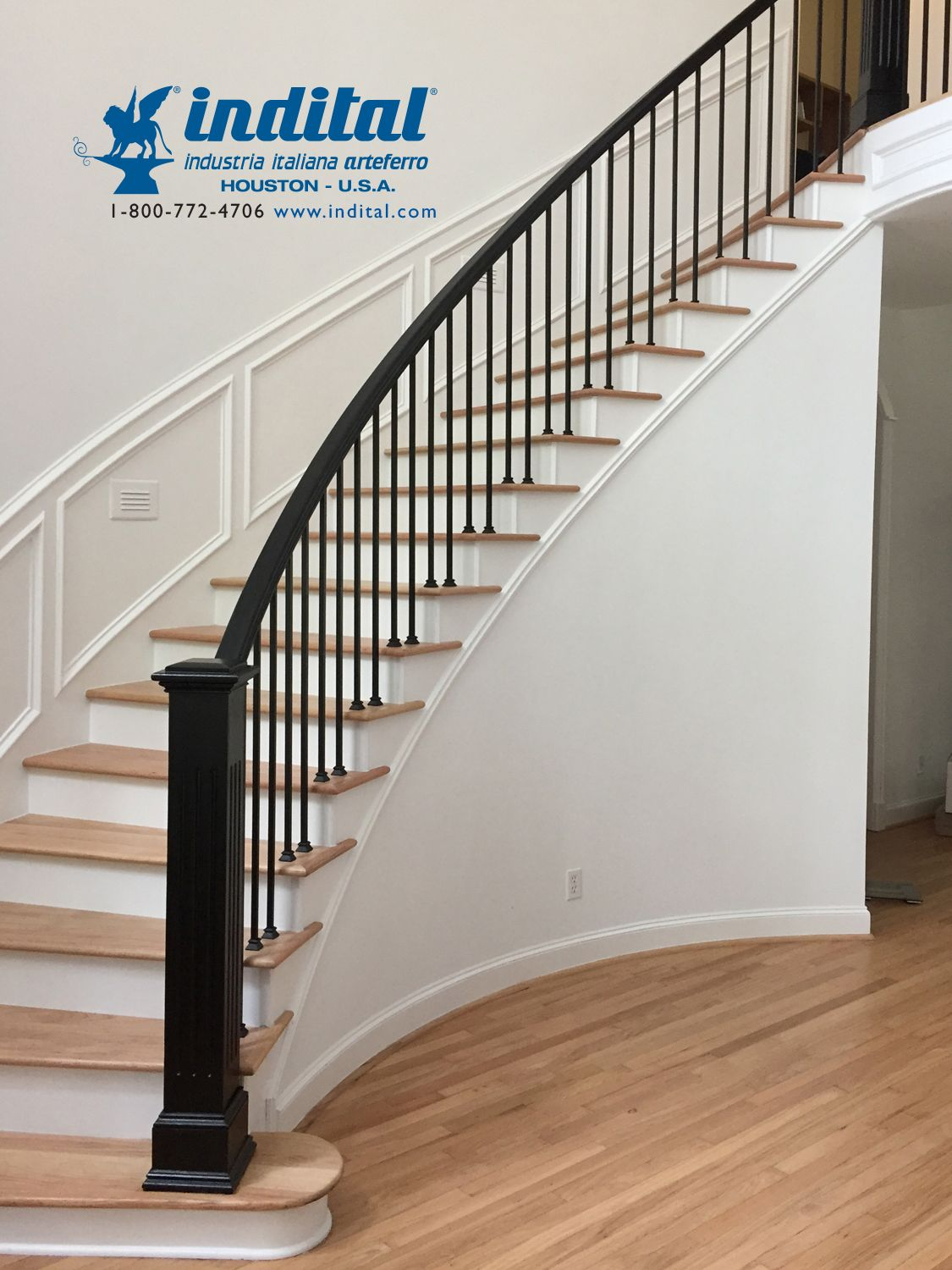 Bring The Striking Beauty Of Powder Coated Wrought Iron To Your | Powder Coated Handrails For Stairs | Ornamental Iron | Metal | Deck Railing | Wrought Iron Balusters | Balcony