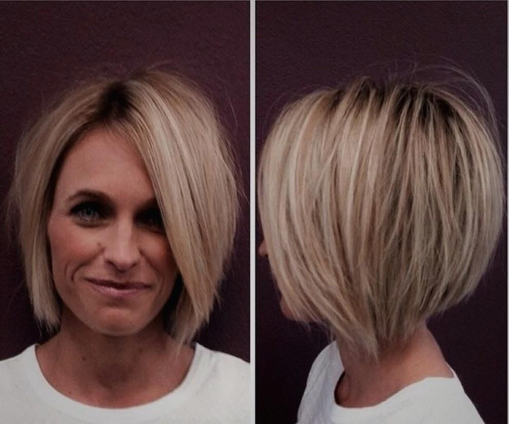 Moderne Frisuren 2018 Lang Elegant Damen Frisuren Frisuren Bob Kurz