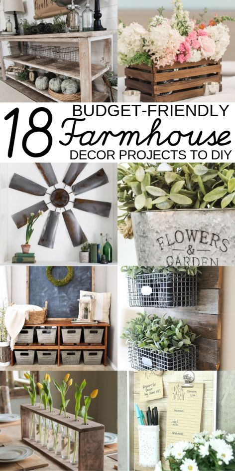 Photo of 17 DIY Farmhouse Decor Projects That Will Save You Time  Money,  #Decor #DIY #farmhouse #Mon…