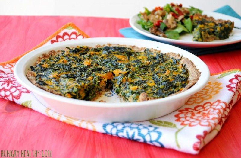 recipe: butternut squash crust quiche [13]
