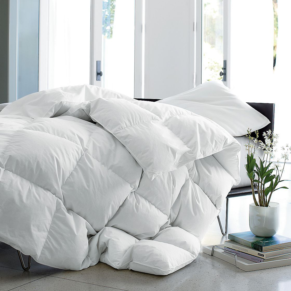 Voted Best Heavyweight Comforter By Real Simple Magazine Down Comforter Bedding Down Comforter White Down Comforter