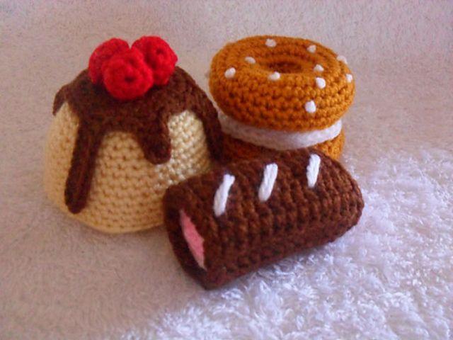 Ravelry Bakery Treats Collection 01 By Cgw Joanitatheron