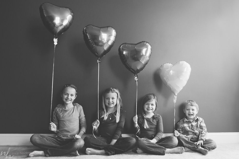 Cute: I wish I would have thought of something similar for Valentine's! So sweet.
