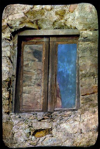 Italian Windows #11, Bussana Vecchia by h_roach - Moving and will be busy for a while, via Flickr
