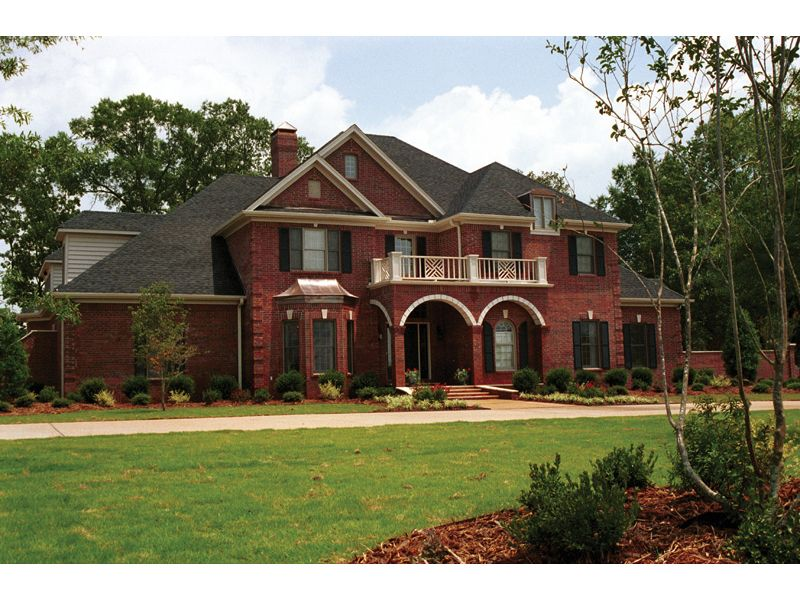 Two Story Brick House Plans Home Design And Style