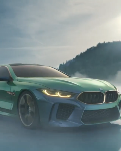 Bmw M8: Pure Performance Genes Of The BMW M8 GTE, Molded Into The