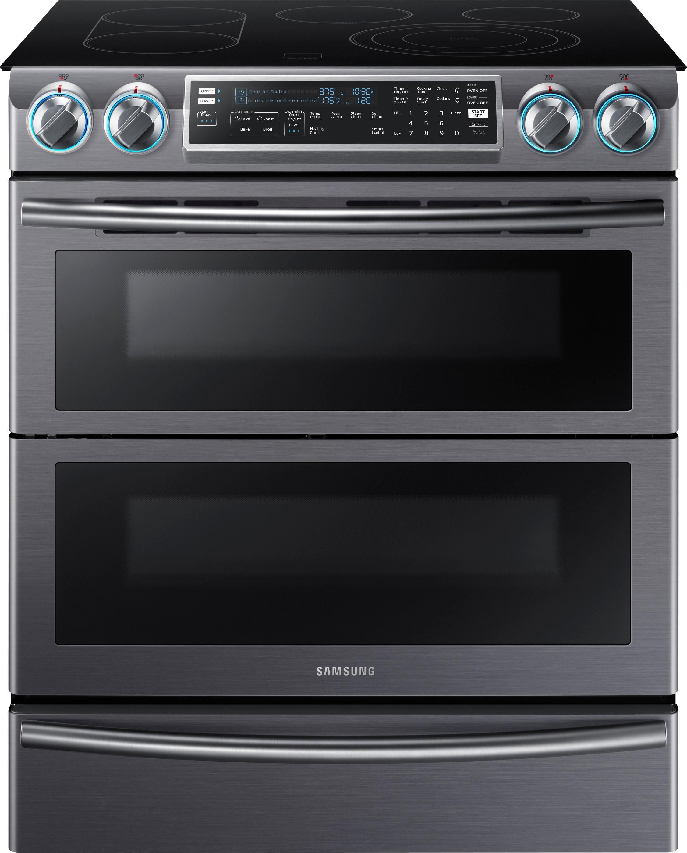 Stainless Steel Samsung Appliances Are Standard In All Cavender