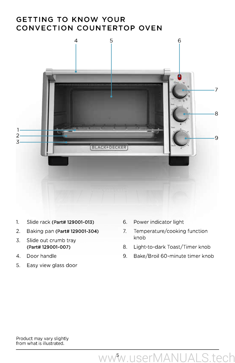 Have A Look At The Manual Black And Decker Toaster Oven To2050s