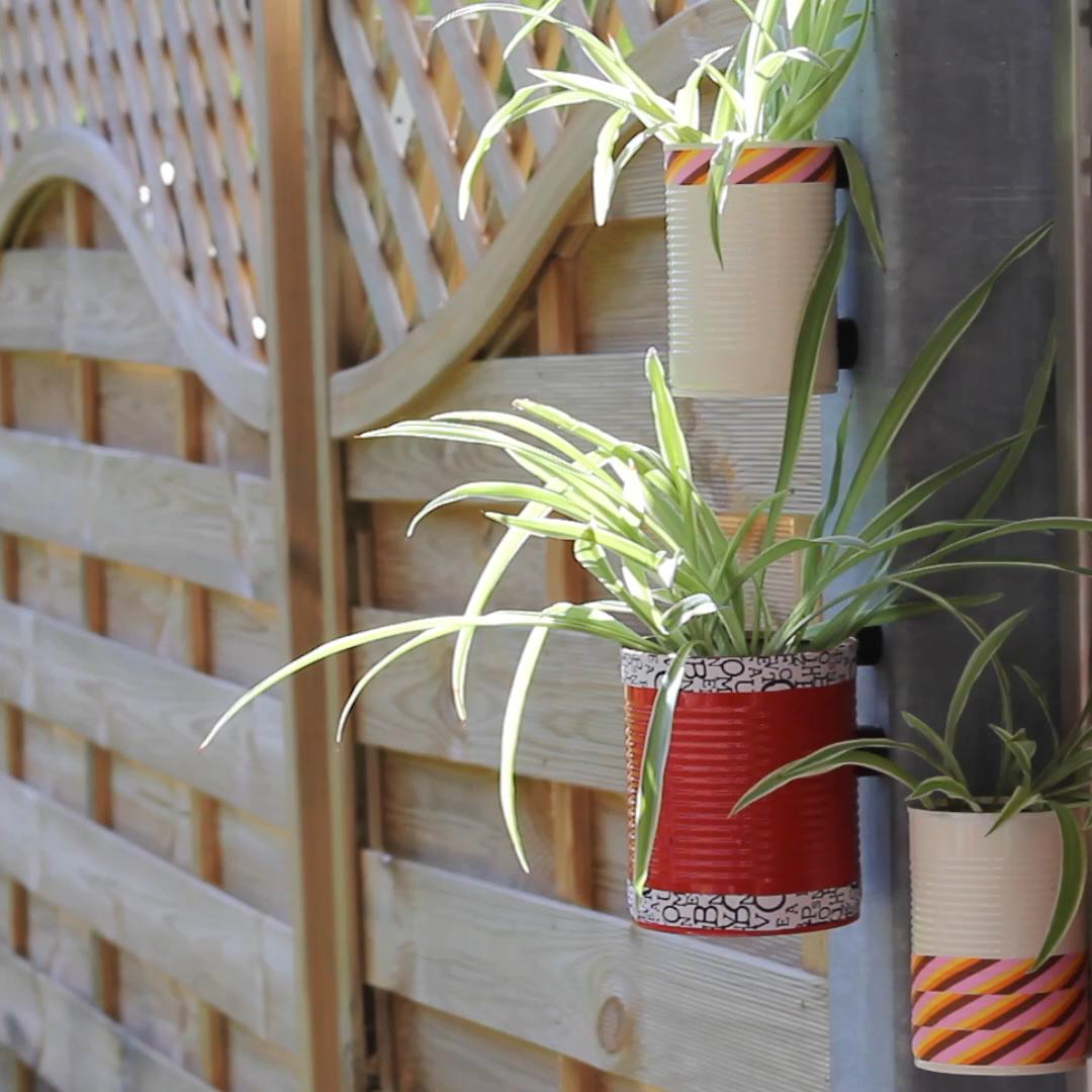 DIY Blumentöpfe mit Magneten