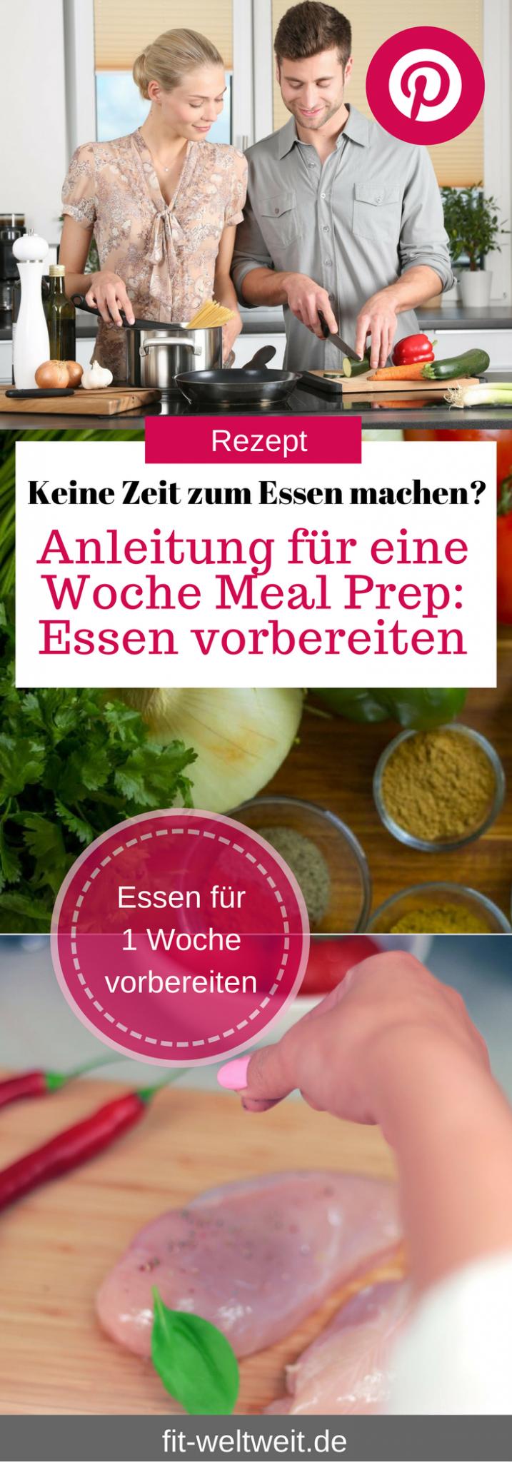 Keine Zeit zum Essen machen: Anleitung für eine Woche MEAL PREP - fit-weltweit.de