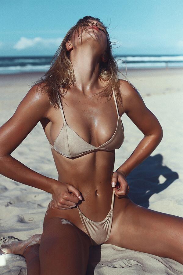 3b740f821c9dc Floralkini Nude Solid Color Bralette Bikini Set - FloralKini ...