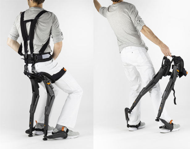 Wearable Exoskeleton Chairs Wearable Iron Man Armor How To Wear