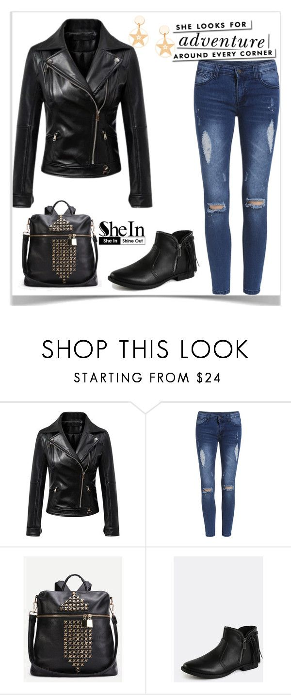 """""""2#SheIn"""" by kiveric-damira ❤ liked on Polyvore featuring WithChic and Kate Spade"""