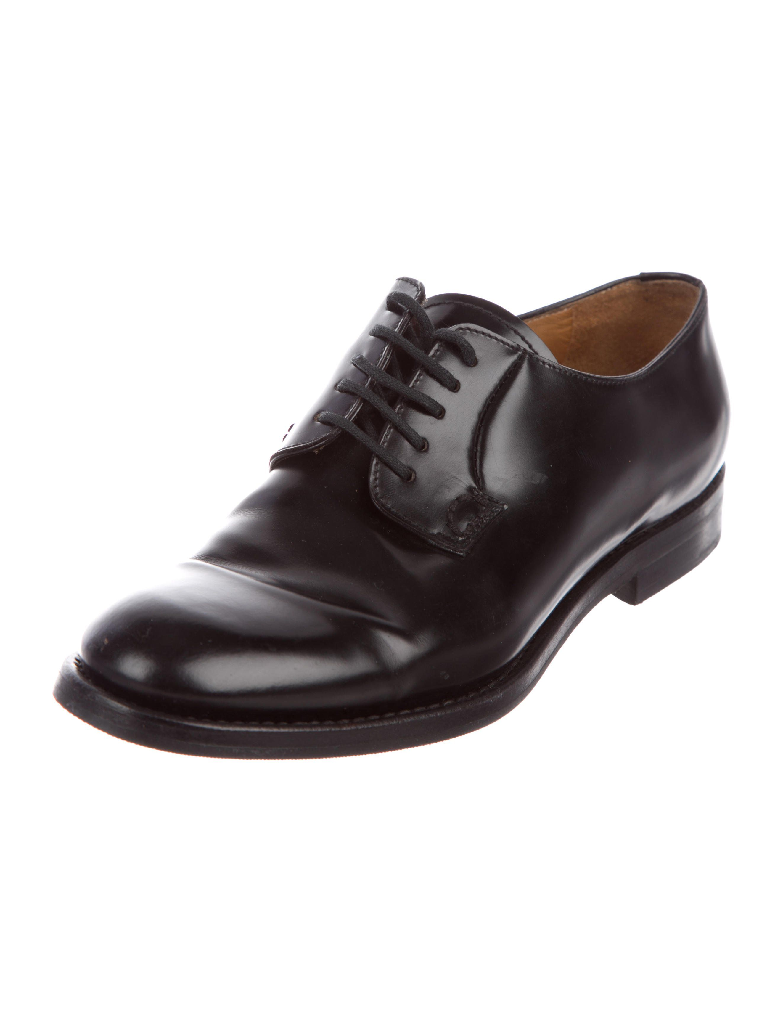 Church's Leather Round-Toe Oxfords huge surprise online 7kAg4f