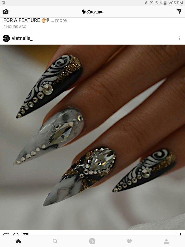 Pin de Ramatu Koroma en Nail Art Designs | Pinterest | Uña decoradas ...