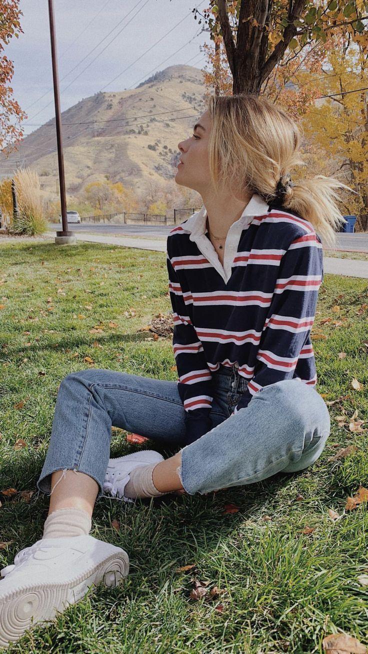 Photo of Zeitlose und bequeme Jean-Outfits für unterwegs, #Bequeme #für #JeanOutfits #u…
