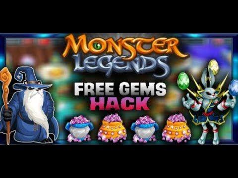 Monster Legends Hack - Free Gems and Gold Cheat - Hack Monster Legend 20.