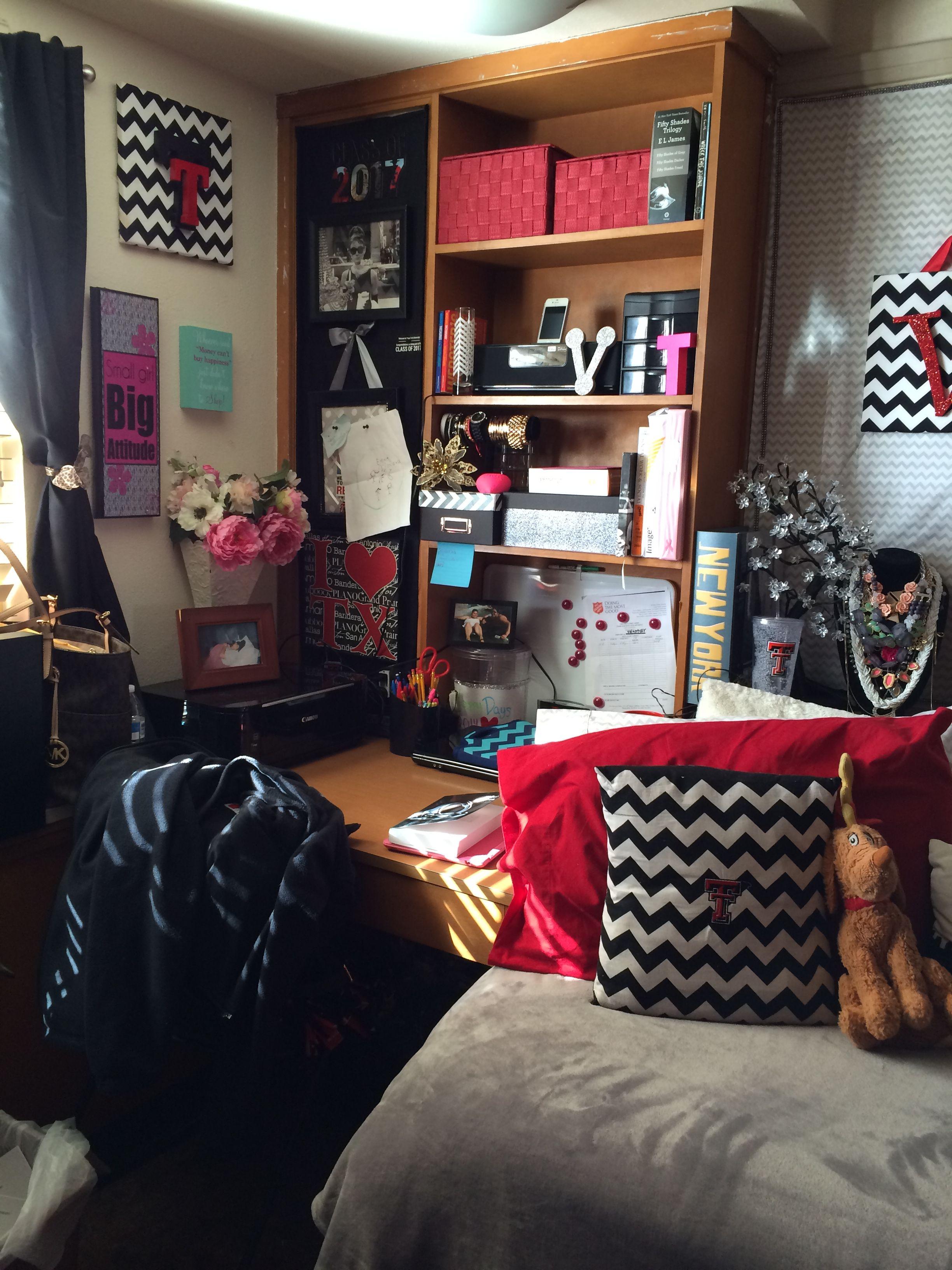 Texas Tech Dorm Room Hulen Hall Dorm Room 2nd Year