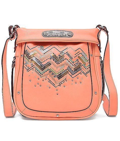Miss Me Embellished Purse at http://Buckle.com  www.thegoodbags.com    MICHAEL Michael Kors Handbag, Jet Set Travel Large Messenger Bag - Shop All -$67