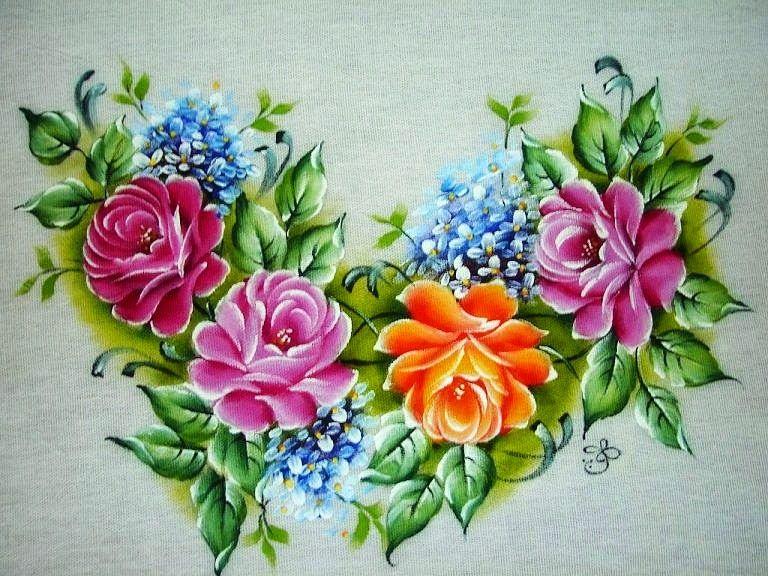 Desenhos Flores Para Imprimir Coloridas 04 Jpg 768 576