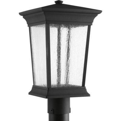 Progress Lighting Arrive Collection 1-Light Black LED Post Lantern-P6427-3130K9 - The Home Depot