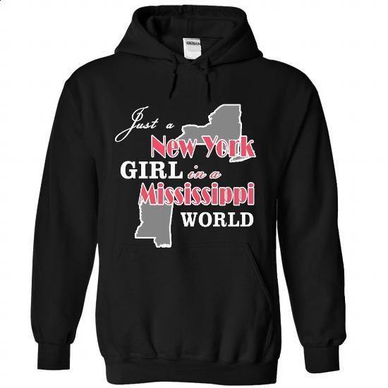 JUST A NEWYORK GIRL IN MISSISSIPPI  - teeshirt #long tee #crochet sweater