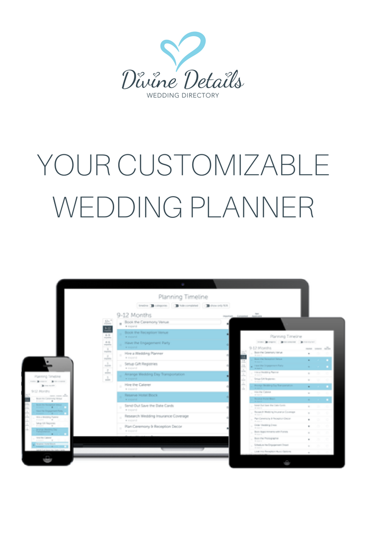 free wedding planning tools for brides divindetails ca wedding