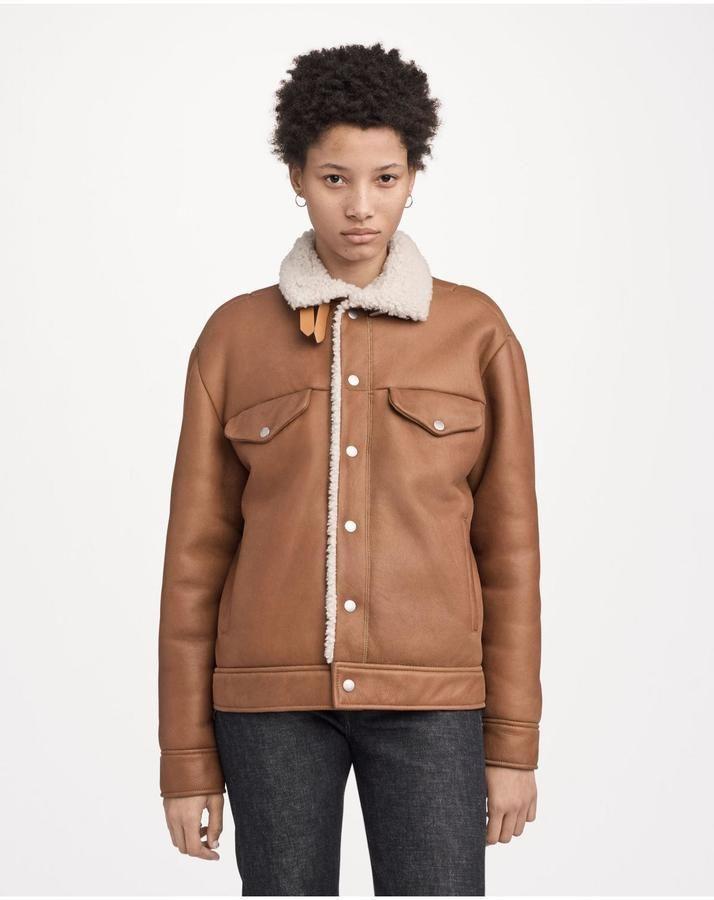 078fd0ade32d6 Rag & Bone Natalie jacket | Products | Jackets, Shearling coat, Rag ...