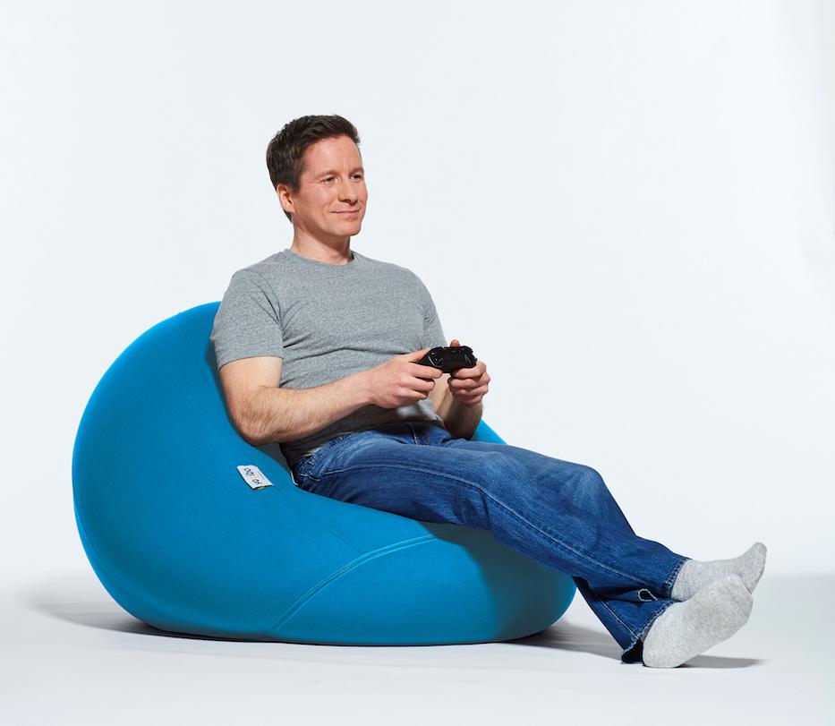 Pod Bean bag chair, Bean bag recliner, Large bean bag chairs