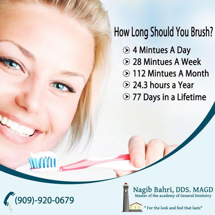 How Long Should You Brush? Dentistry, Family dentist