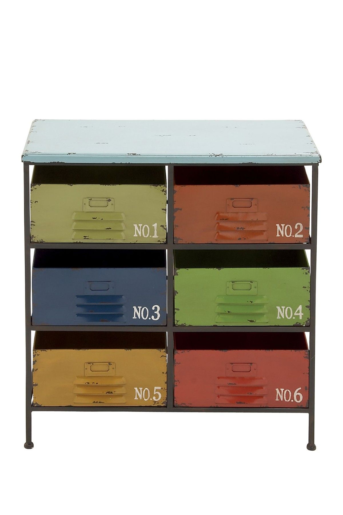 Multicolor Storage Chest