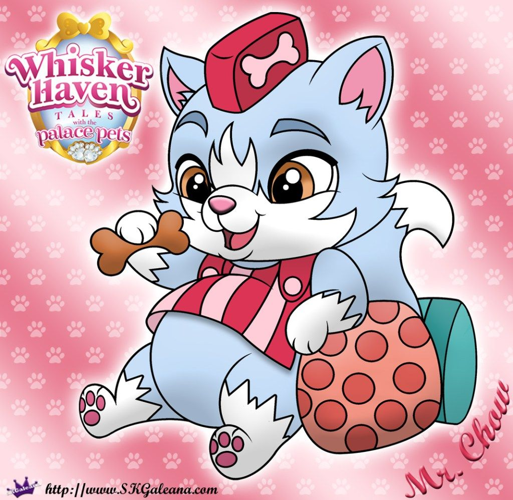 Whisker Haven Tales Coloring Page Of Mr Chow Disney Princess Pets Disney Princess Palace Pets Your Pet