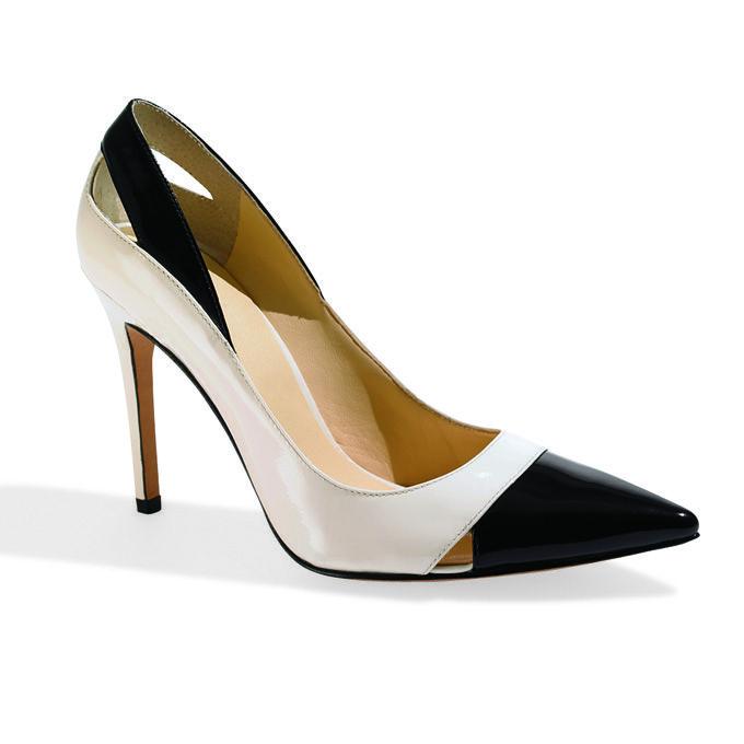 Ivanka Trump Black And White Pumps Wedding Shoes