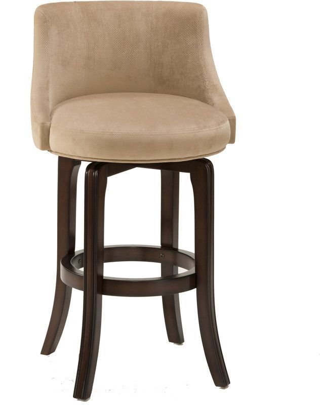 Hillsdale Napa Valley 25 Inch Counter Stool W Textured Khaki Fabric