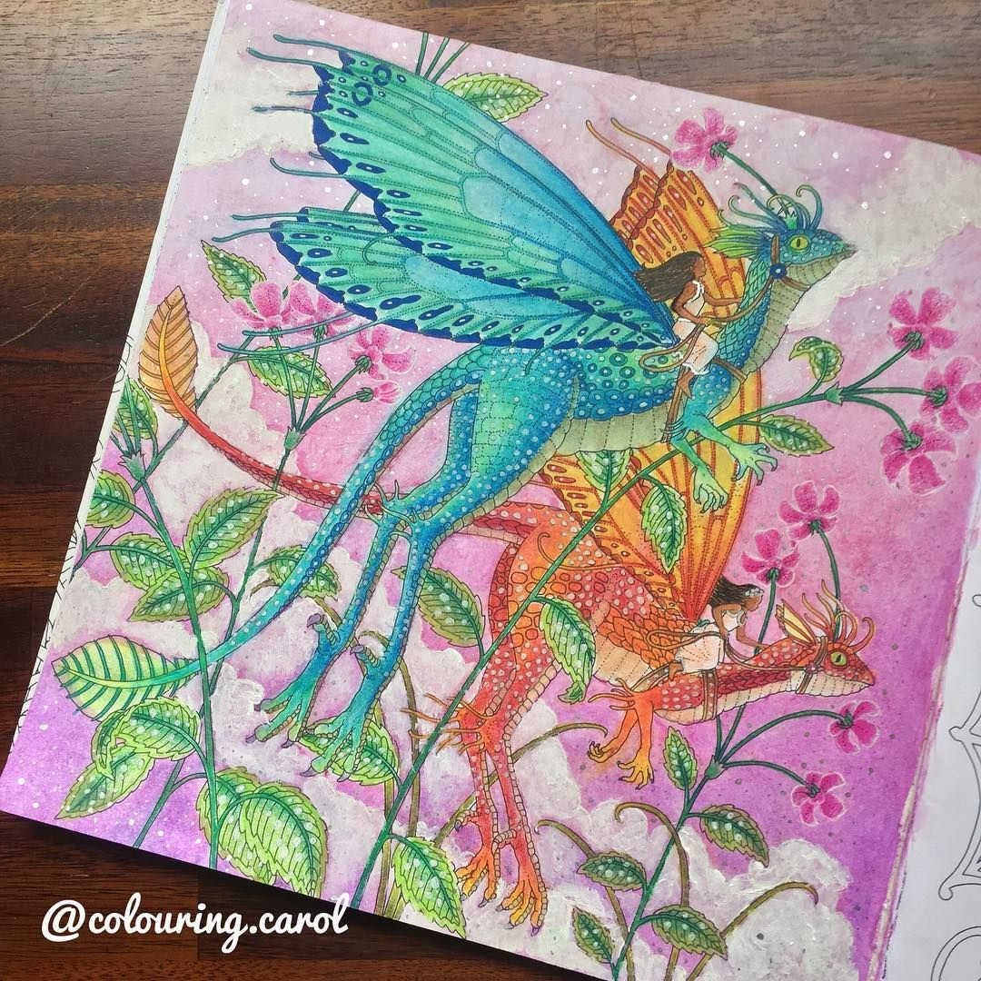 This Page Was Inspired By The Amazing Cindycink And Her Beautiful Oilpastel Colouring I Used Fabercastell Oil Past Oil Pastel Coloring Pages Color Me