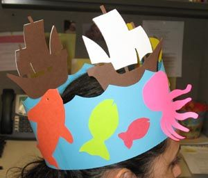 Shark Headband Craft Google Search Headband Crafts Hat Crafts