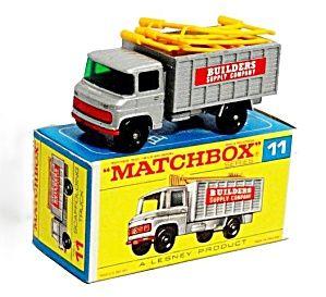 1960s Matchbox No 11 Scaffolding Truck In Box Matchbox Matchbox Cars Corgi Toys