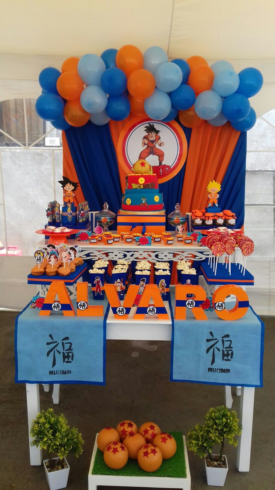 Festa Dragon Ball Z Goku Birthday 10 Parties Kids