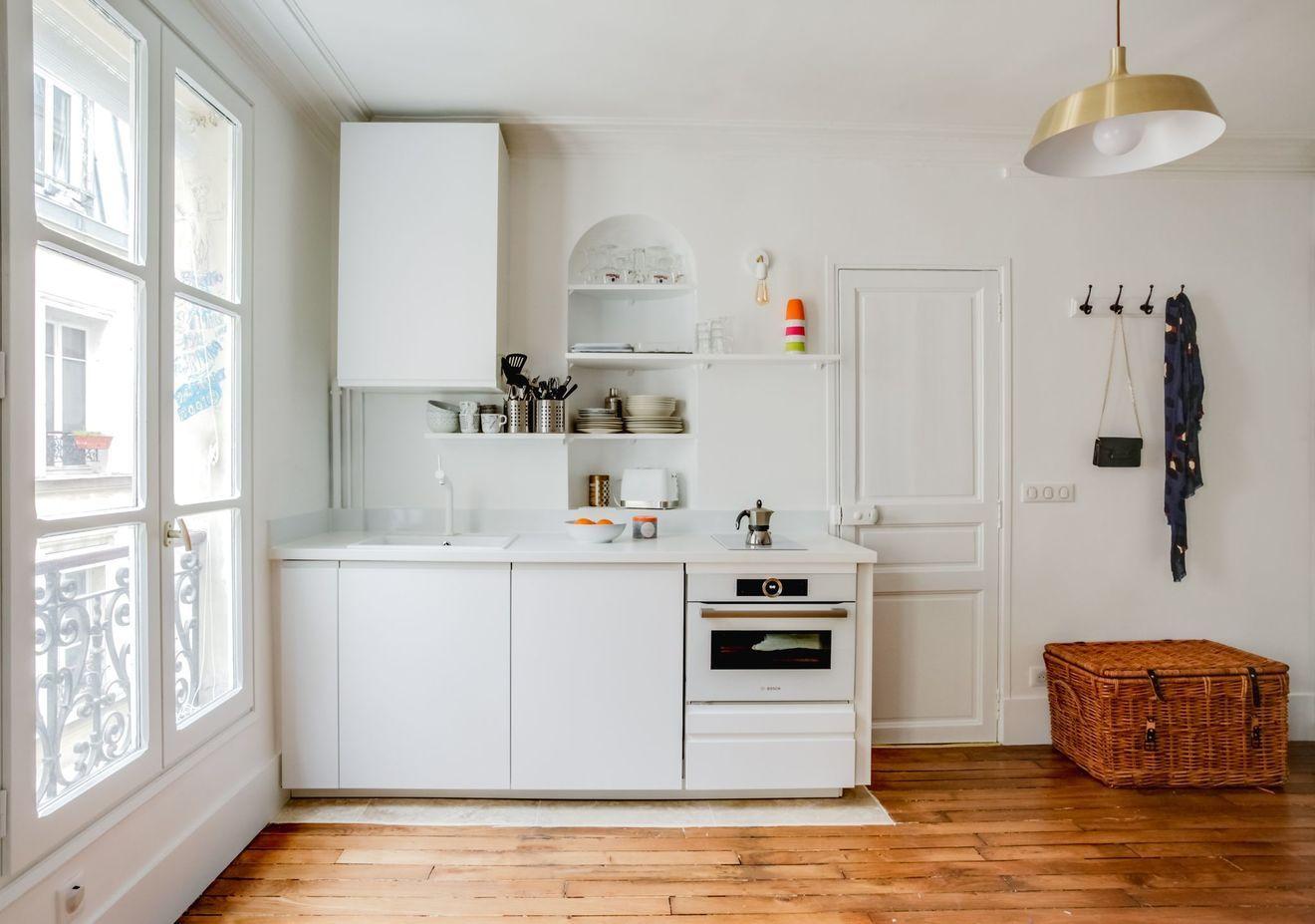 Appartement Paris 112  un petit T112 transformé en T12 spacieux ...