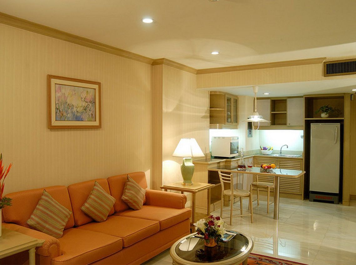 Living Room Designs Indian Small Apartments Blue And Brown Walls Apartment Ideas In