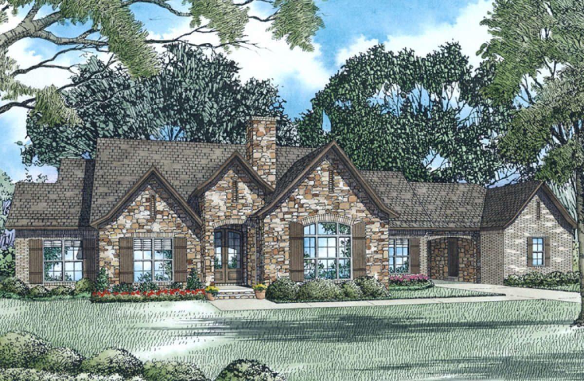 House Plan 110 01007 French Country Plan 2 118 Square Feet 3 Bedrooms 2 Bathrooms Unique Floor Plans French Country House Plans Floor Plans Ranch