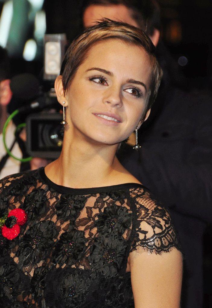 Emma Watson Emma watson, Short hairstyles for women