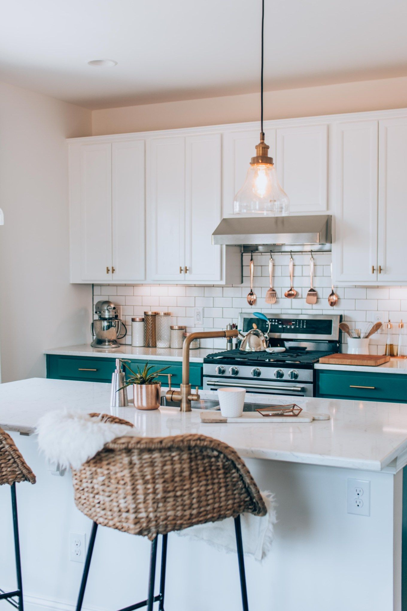 Before & After A Nice Kitchen Gets Unbelievably Better