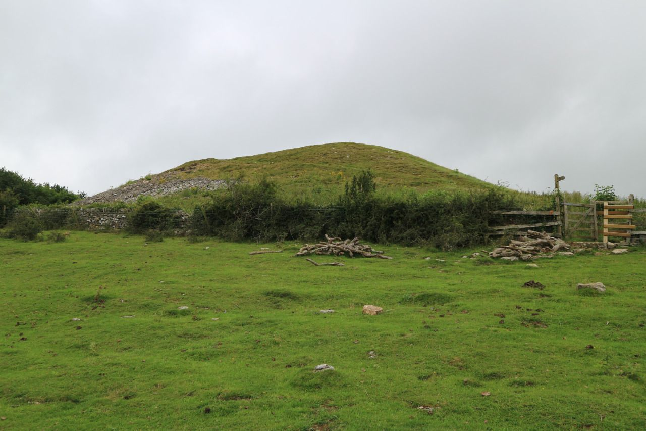 Gop Cairn, Trelawnyd, North Wales, 4.8.16. This is the second largest artificial mound in the UK after Silsbury Hill and huge in scope due to its…